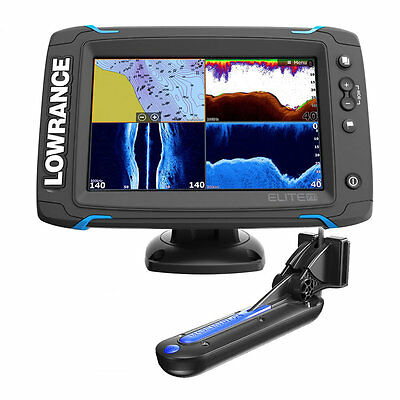 Lowrance Elite 7 Ti - Combo Eco Chirp/plotter + Trasduttore Total Scan 12419-001