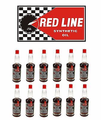 Red Line Oil 60103 SI-1 Fuel System Cleaner Case of 12