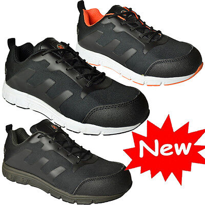 Mens Lightweight Steel Toe Cap Safety Work Trainers Shoes Boots Ladies 3Uk 13Uk