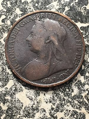 1899 Great Britain 1 Penny Lot#1962