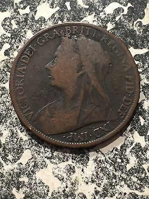 1899 Great Britain 1 Penny Lot#1966