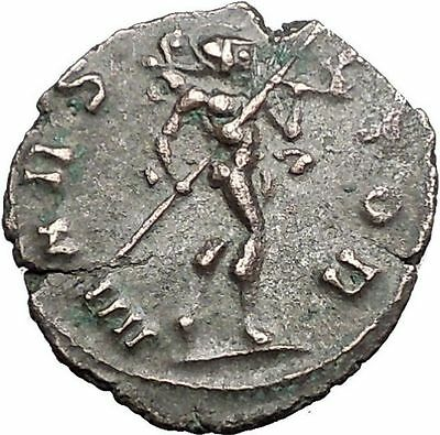 Claudius II Gothicus 268AD Ancient Roman Coin Ares Mars War God Cult   i55867