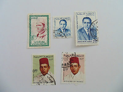 L1004 - Collection Of Morocco Stamps