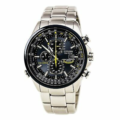 Citizen AT8020-54L Men's Blue Angels World Chrono A-T Dive Watch