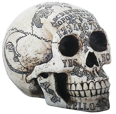 Ouija Sugar Skull Collectible Figure Statue Decoration Day of the Dead Halloween