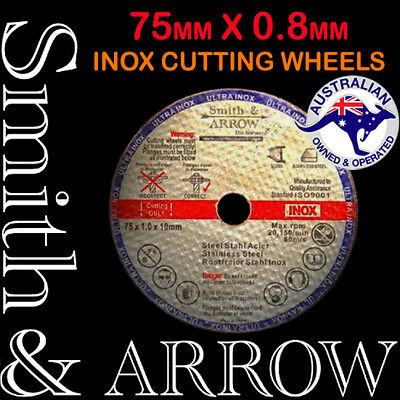 "3"" 75mm SHEETMETAL CUTTING DISCS WHEEL CUT OFF AIR TOOL DIE GRINDER ROTARY THIN"