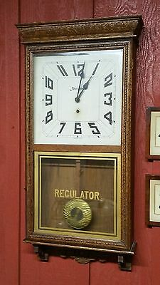 Great ANTIQUE  SESSIONS STORE REGULATOR