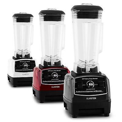 Bpa Frei Standmixer Mixer 2G Ice Crusher Smoothie Maker Shaker Schwarz 1,6 Ps