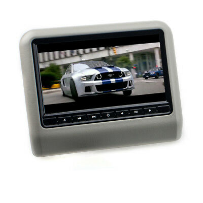 9 17,8 cm TFT LCD reposacabezas Monitor coches reproductor DVD USB SD gris""