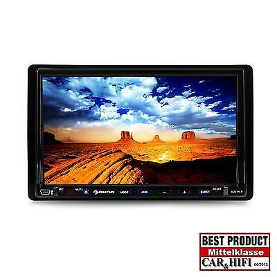 Autoradio Pantalla Tactil 18Cm Reproductor Dvd Cd Mp3 Bluetooth Radio Coche Auto