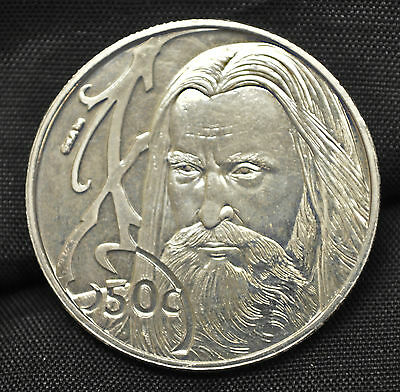 2003 New Zealand 50 cents Lord of the Rings: Saruman
