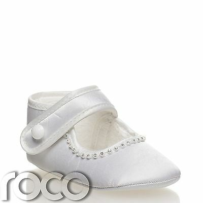 Baby Girls Shoes, White Christening Shoes, Baby Shoes, Shoes For Babies