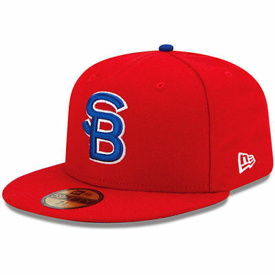 South Bend Cubs New Era Authentic Collection On Field 59FIFTY Fitted Hat - MiLB