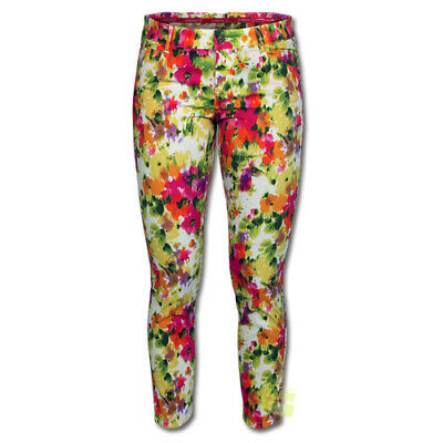 Alberto Damen Golfhose Mona Painted Flower