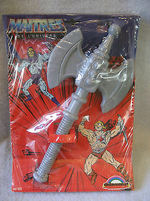 SUPER RARE vintage BATTLE AXE Masters of the Universe MOC delavennat France toy