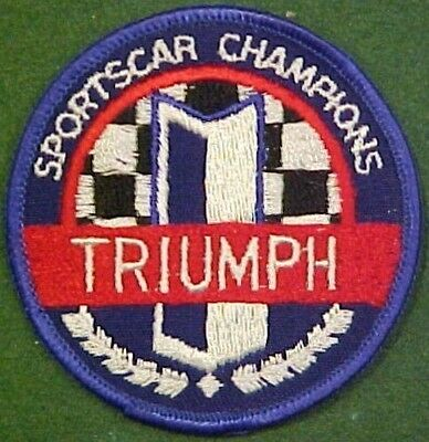 Triumph Sports Car Champions Patch
