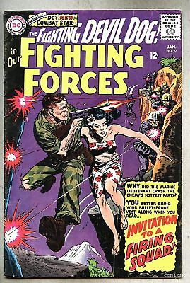 Our Fighting Forces #97-1966 vg Irv Novick