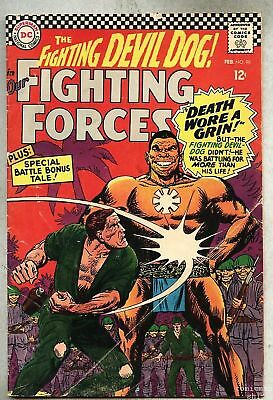 Our Fighting Forces #98-1966 gd+ Irv Novick