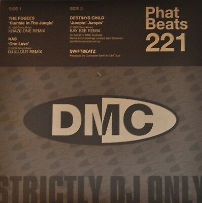 15 x Vinyl Rap/Hip Hop Records DMC Phat Beats Fugees/Nas/Big L etc