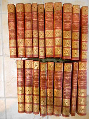 Lot 19 Volumes Victor Hugo Oeuvres Completes Avec Illustrations