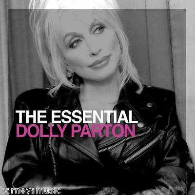 DOLLY PARTON ( NEW SEALED 2 x CD SET ) THE ESSENTIAL GREATEST HITS / VERY BEST