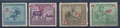 Congo Belge - 159/161A - Vloors & Leys Surcharges - 1931 - MNH