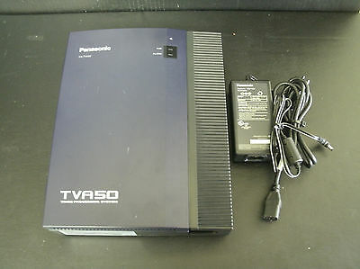 Panasonic KX-TVA50 Voice Mail Voice Processing System 2 Port 4 Hour & Power #A