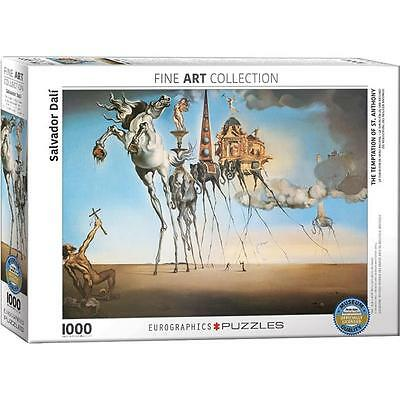 EuroGraphics Salvador Dali The Temptation Of St. Anthony Puzzle 1000 Pieces