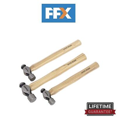 Sealey AK203 Ball Pein Hammer Set 3pc