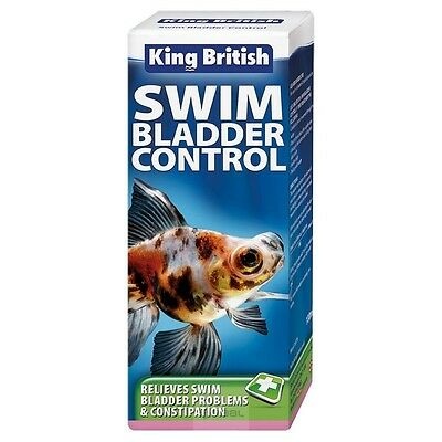 King British Swim Bladder Control 100ml Fish Disease Treatment Aquarium B2GOF!