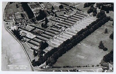 BRISTOL Frenchay Hospital & Lime Grove, RP Postcard by Aerofilms Unused