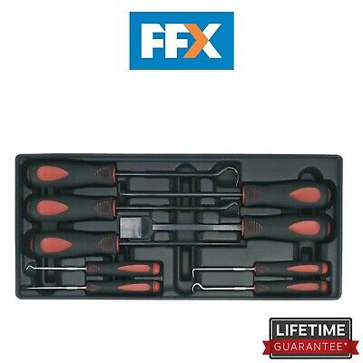 Sealey TBT23 Tool Tray with Scraper Set 9pc