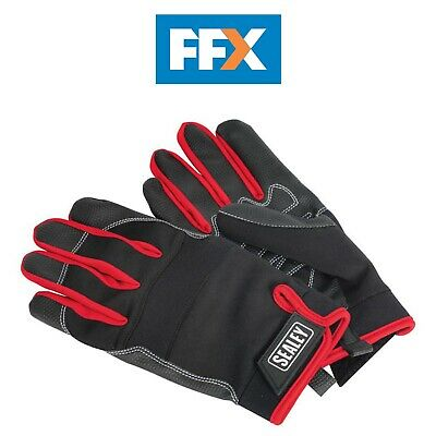 Sealey MG798XL Mechanic's Gloves Light Palm Tactouch - Extra Large