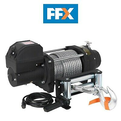 Sealey RW8180 Industrial Recovery Winch 8180kg Line Pull - 12V/24V Motor