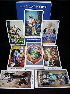 Brand New & Sealed! Cat People Tarot Card & Book Oracle Set Is Now Out Of Print!