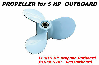 Propeller for LEHR 5 hp outboard propane-powered engine Motor Prop