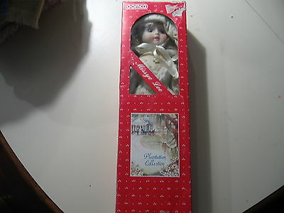 """15"""" Porcelain Doll Missye Lee, made by Loomco, NEW in the box"""