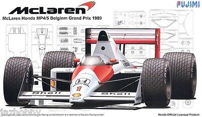 Fujimi GP22 1/20 Model Formula One Kit McLaren Honda MP4/5 1989 A.Senna/A.Prost