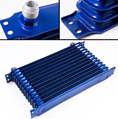 Universal Race Rally Drift 13 Row 50Mm Engine Alloy Oil Cooler An10 Fittings