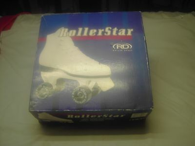 Roller Star Skates Suede Lining Women Size 10 In Good Condition