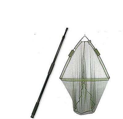 """42"""" CARP FISHING LANDING NET with DUAL NET FLOAT SYSTEM + 2M HANDLE NGT"""