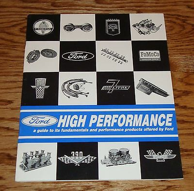 1964 1965 1966 Ford High Performance Sales Catalog 64 65 66
