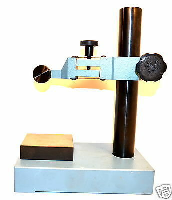 NOS AMERICAN SUN USA Machinists Dial Indicator Comparator Stand c/w square Anvil