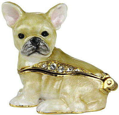 French Bulldog Miniature Trinket Box