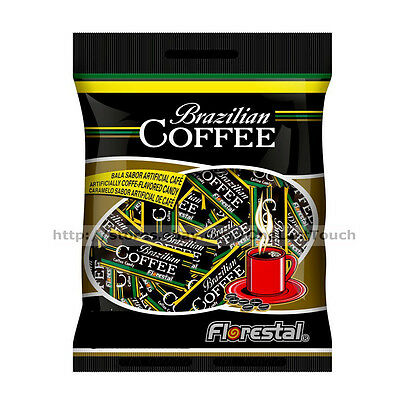 FLORESTAL 6.34 oz Bag BRAZILIAN COFFEE Flavored Hard Candy GLUTEN FREE Candies