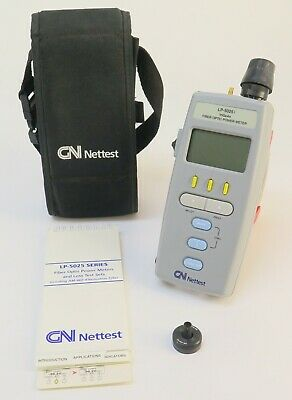 GN Nettest  LP-5250  Fiber Optic Power Meter