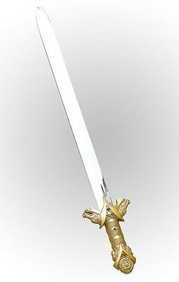 New Ancient Knight Roman Soldier Crusader Sword Fancy Dress Toy Weapon Accessory