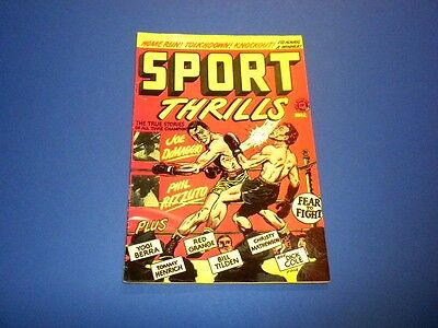 SPORT THRILLS #12 Accepted Publication (not dated)