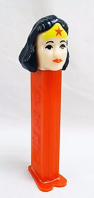 Rare Old Pez  Wonder Woman Made In Slovenia Good Cond See Photos - Really Cool!