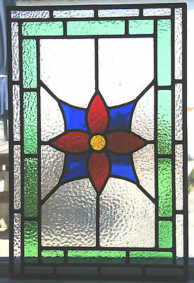 Ref Sg189 - A Beautiful Stained Glass Panel From Classic Pieces